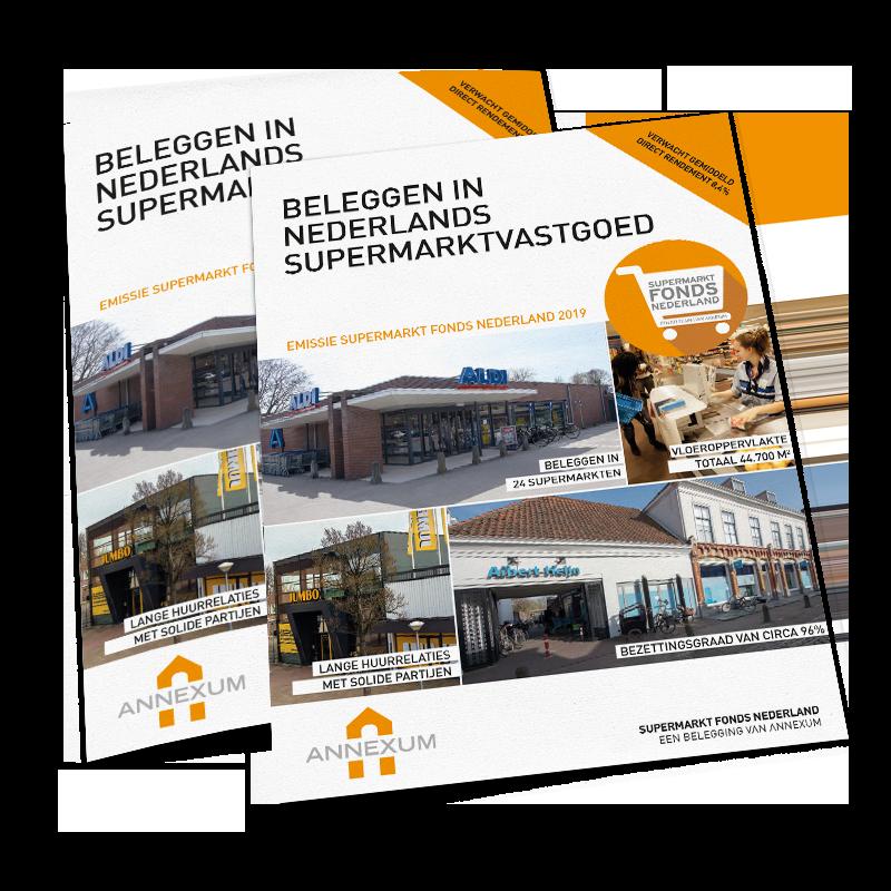Brochure emissie Supermarkt Fonds Nederland