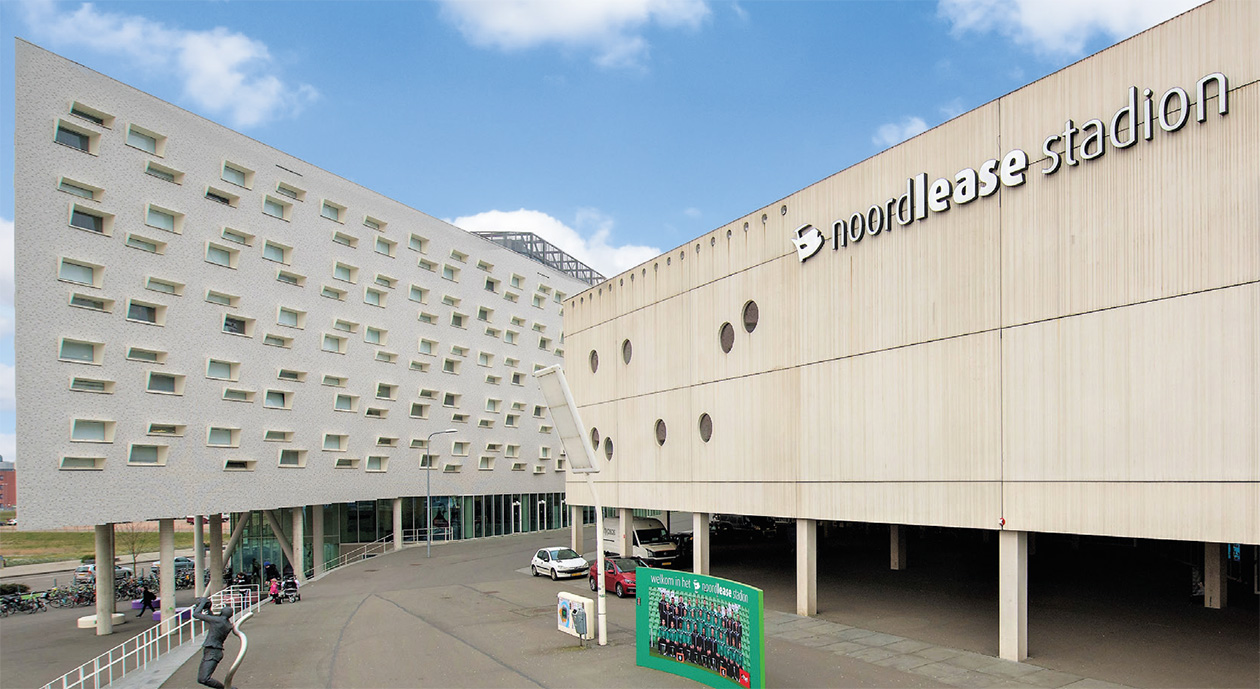 Vastgoed Fundament Fonds   Groningen, Boumaboulevard
