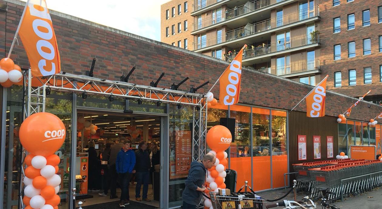 EMTÉ aan de Markkant in Oosterhout wordt een COOP Supermarkt