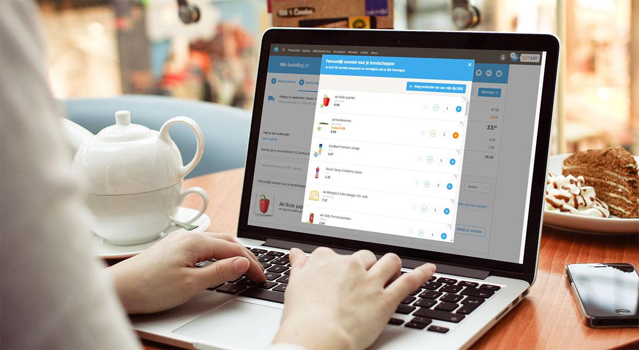 Consumenten bestellen boodschappen vaker online