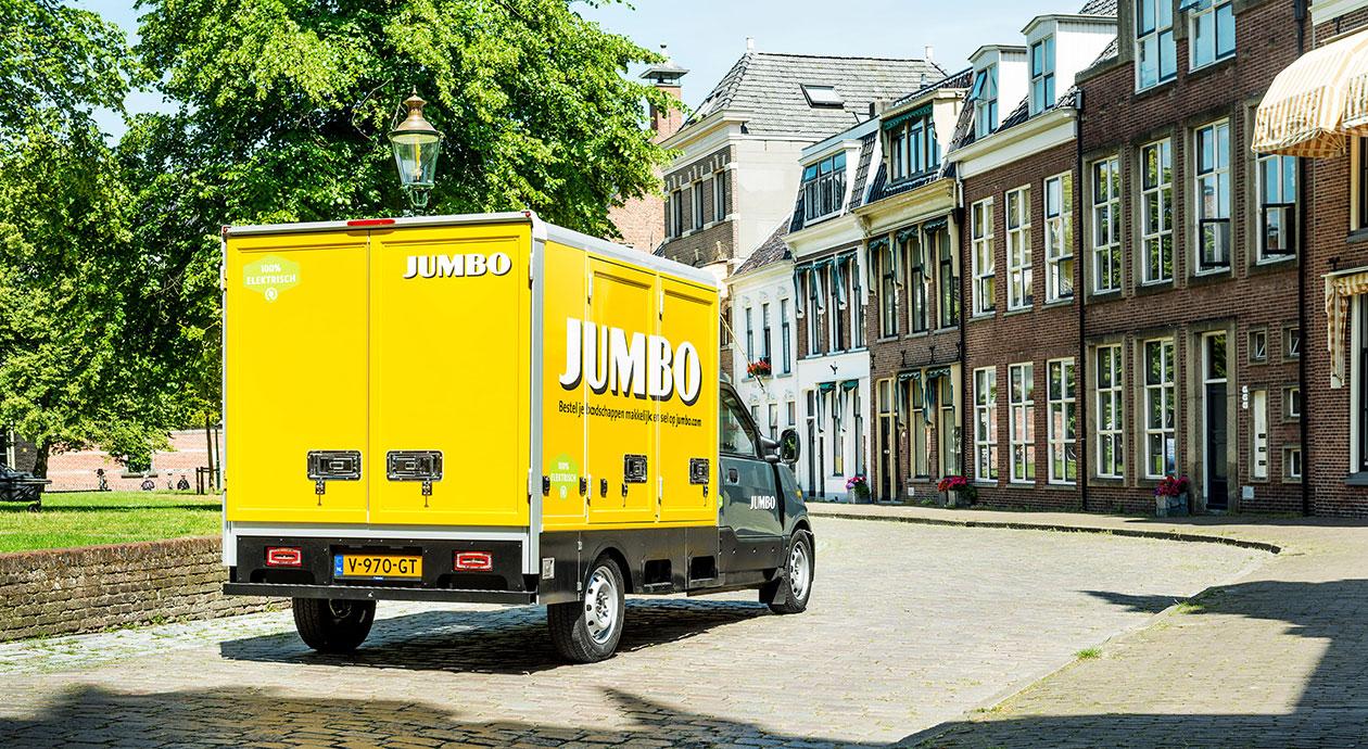Jumbo bezorgt boodschappen thuis
