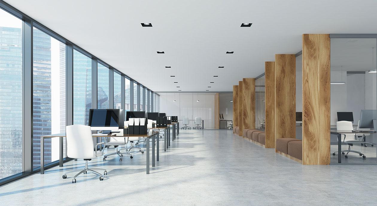 Flexibele kantoorruimte