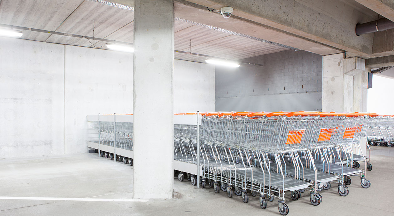 Supermarktvastgoed, beleggen in stenen winkels