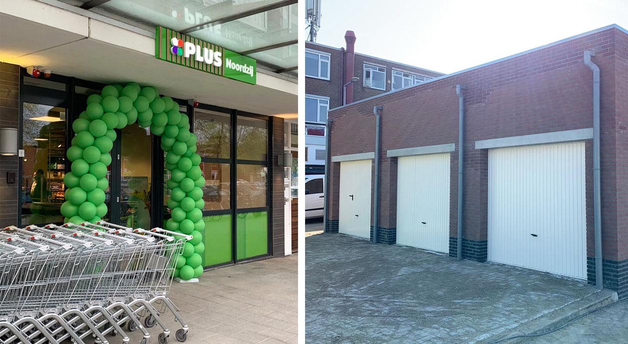 PLUS supermarkt duurzaam vergroot