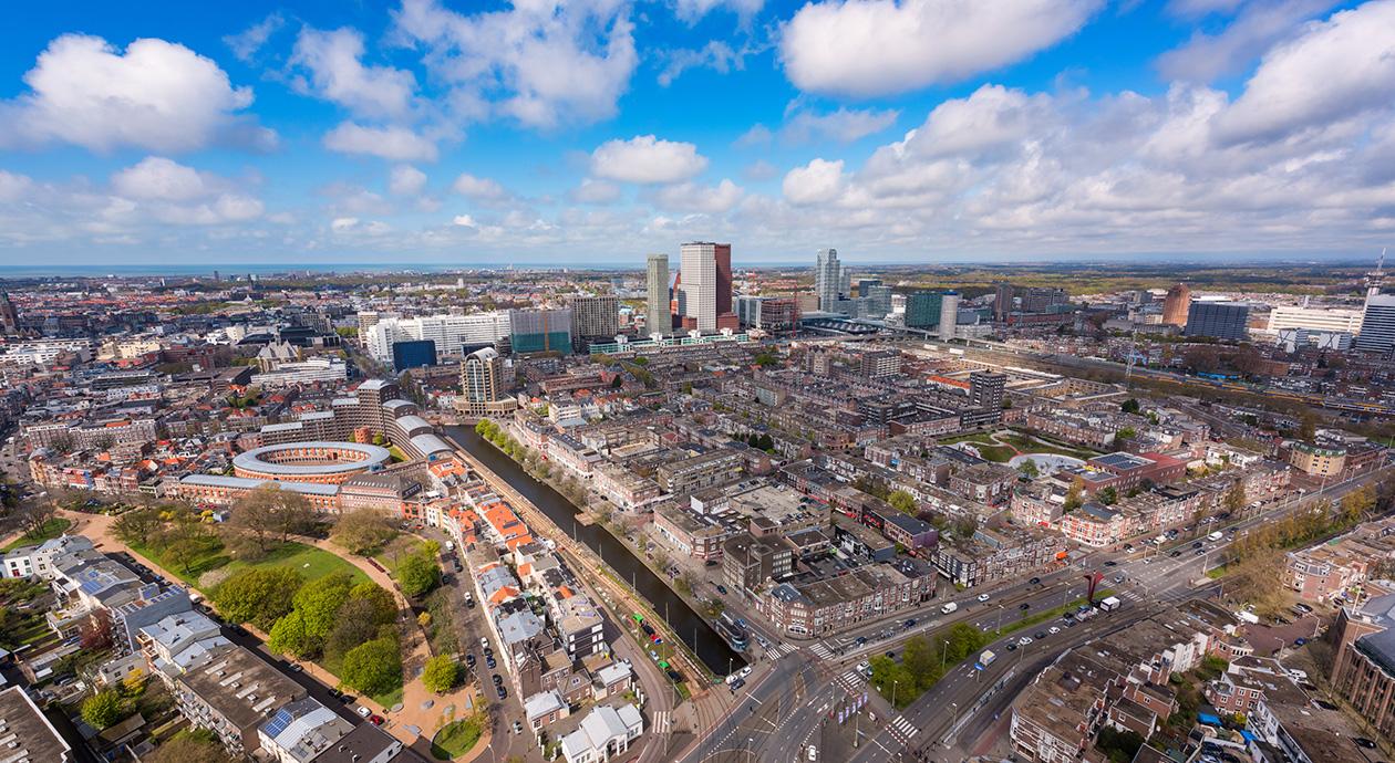 Bouw woningen en kantoren in Den Haag