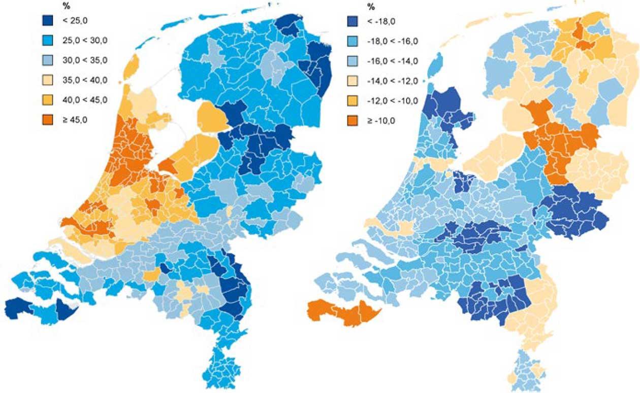 Woningen met overwaarde in Nederland