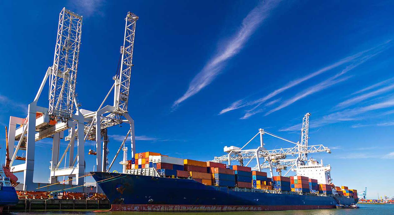Containervervoer via zee