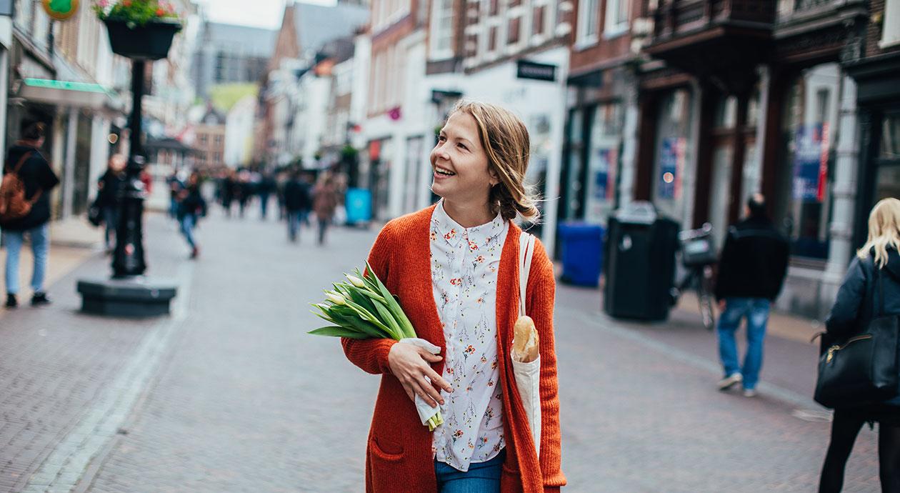 Winkelstraat in Nederland