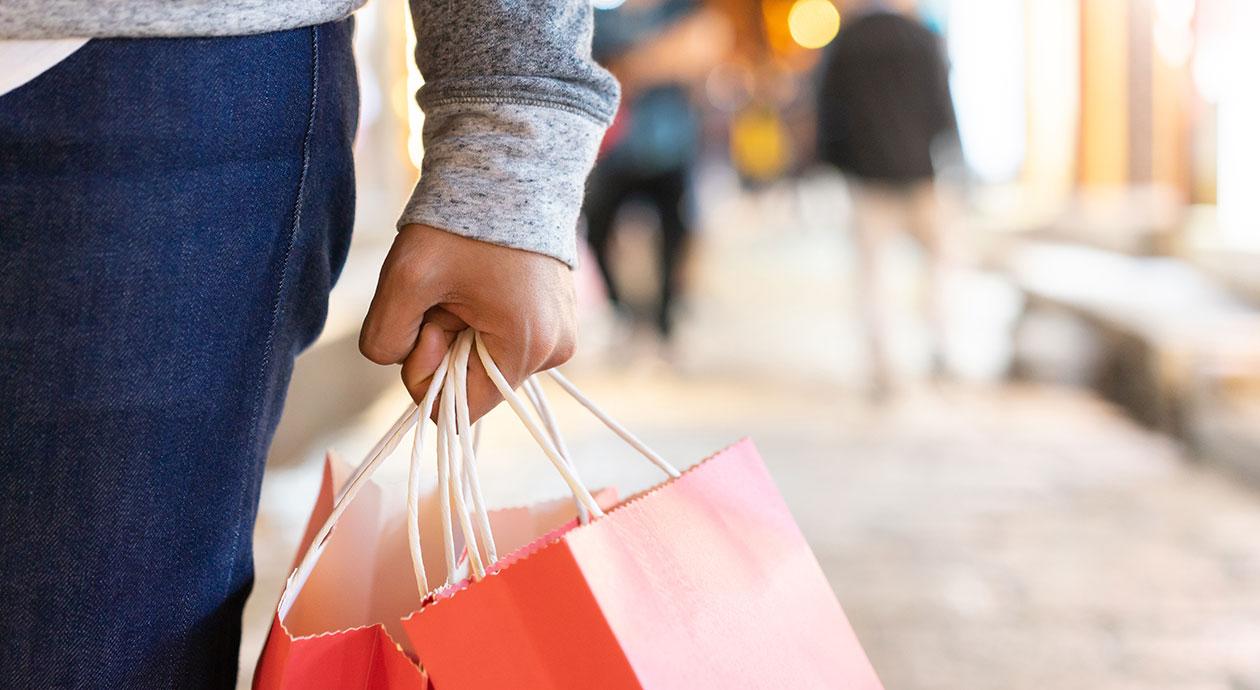 Shoppen in de fysieke winkel