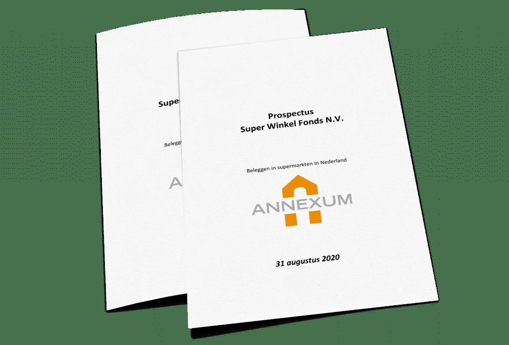 Prospectus Super Winkel Fonds | Beleggen in supermarkten in Nederland