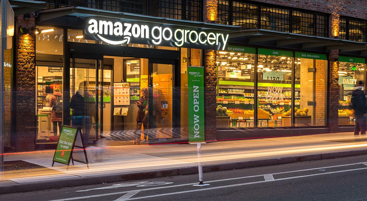 Amazon blijft innoveren in supermarktbranche
